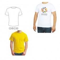 Penye bisiklet yaka t-shirt
